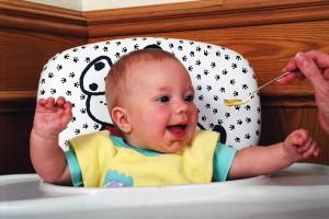 Здоровый малыш ест ровно столько, сколько ему нужно